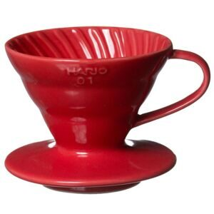 Hario Dripper Ceramic V60 VDC-01R red 01