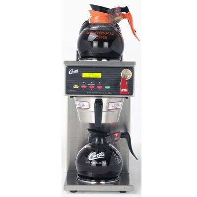 Curtis G3 Alpha Decanter 3 Station, 1 lower, 2 Upper Warmers ALP3GT32A000