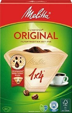 Melitta coffee filters 1x4