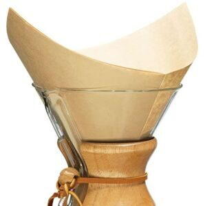 Chemex bonded filters Prefolded Squares (natural) FSU-100