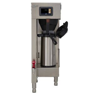 Curtis G4 Single 1.5 Gal. Coffee Brewer with Shelf and Dual Voltage G4TP15S63A1500