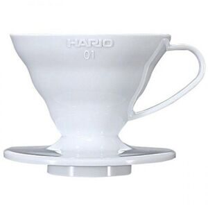 Hario Dripper Ceramic V60 VDC-01W white 01